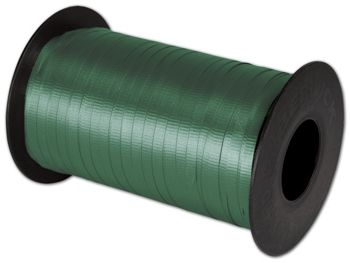 Splendorette Curling Hunter Green Ribbon