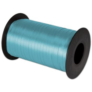"Splendorette Curling Turquoise Ribbon, 3/16"" x 500 Yds"