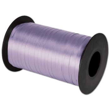 Splendorette Curling Lavender Ribbon, 3/16