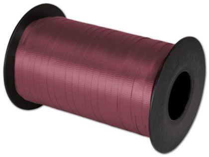 """Splendorette Curling Burgundy Ribbon, 3/16"""" x 500 Yds"""