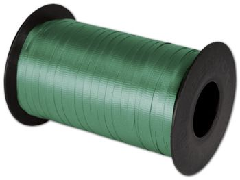 Splendorette Curling Emerald Ribbon, 3/16