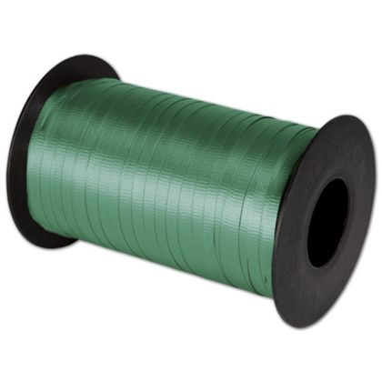 "Splendorette Curling Emerald Ribbon, 3/16"" x 500 Yds"