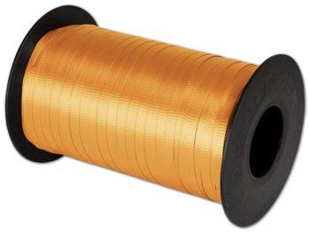 Splendorette Curling Tropical Orange Ribbon
