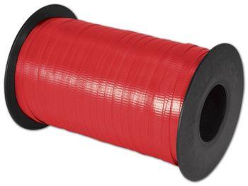 Splendorette Curling Cherry Red Ribbon, 3/16