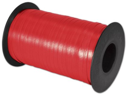 """Splendorette Curling Cherry Red Ribbon, 3/16"""" x 500 Yds"""