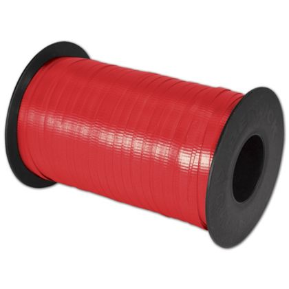 "Splendorette Curling Cherry Red Ribbon, 3/16"" x 500 Yds"
