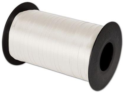 """Splendorette Curling White Ribbon, 3/16"""" x 500 Yds"""