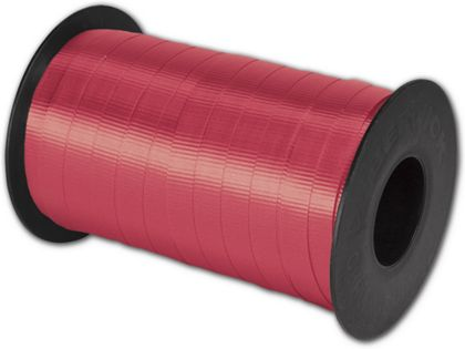 "Splendorette Curling Red Ribbon, 3/8"" x 250 Yds"