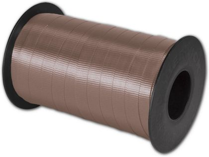 "Splendorette Curling Chocolate Ribbon, 3/8"" x 250 Yds"