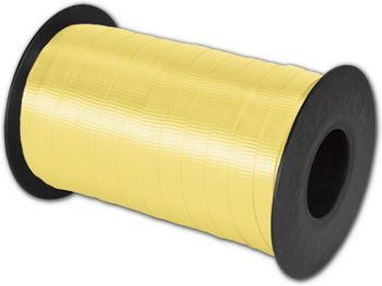 Splendorette Curling Yellow Ribbon, 3/8