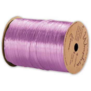 Pearlized Wraphia Orchid Ribbon, 1/4