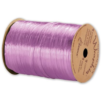 "Pearlized Wraphia Orchid Ribbon, 1/4"" x 100 Yds"