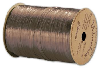 Pearlized Wraphia Copper Ribbon, 1/4