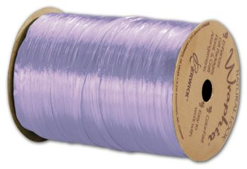 Pearlized Wraphia Lavender Ribbon, 1/4