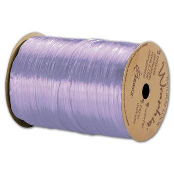 Pearlized Wraphia Lavender Ribbon, 1/4