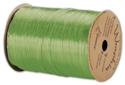 "Pearlized Wraphia Celadon Ribbon, 1/4"" x 100 Yds"