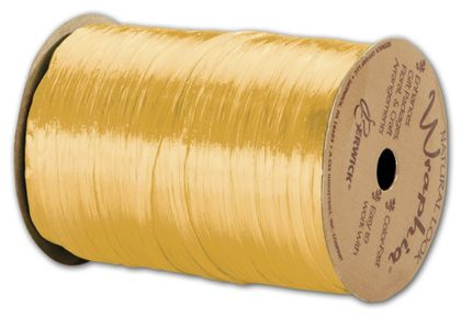 "Pearlized Wraphia Daffodil Ribbon, 1/4"" x 100 Yds"