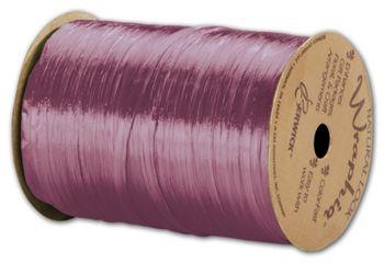 Pearlized Wraphia Grape Ribbon, 1/4