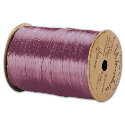 "Pearlized Wraphia Grape Ribbon, 1/4"" x 100 Yds"