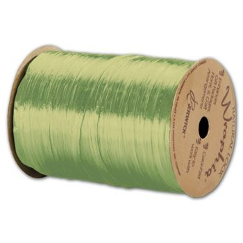 Pearlized Wraphia Chartreuse Ribbon, 1/4