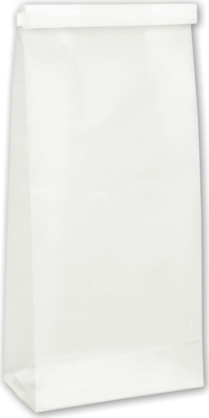 Clear Frosted Tin-Tie Bags, 4 1/4 x 2 1/2 x 9 3/4""