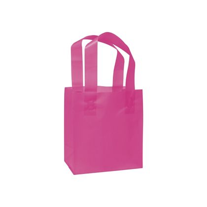 Cerise Frosted High Density Shoppers