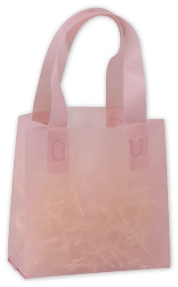 Dusty Rose Frosted High Density Shoppers