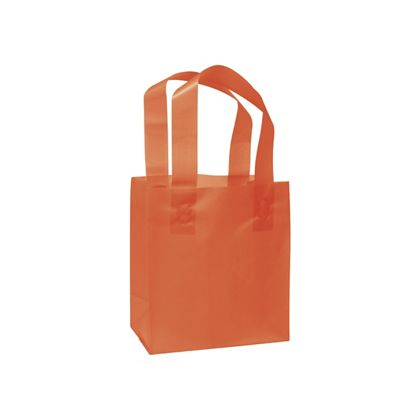 Orange Frosted High Density Shoppers