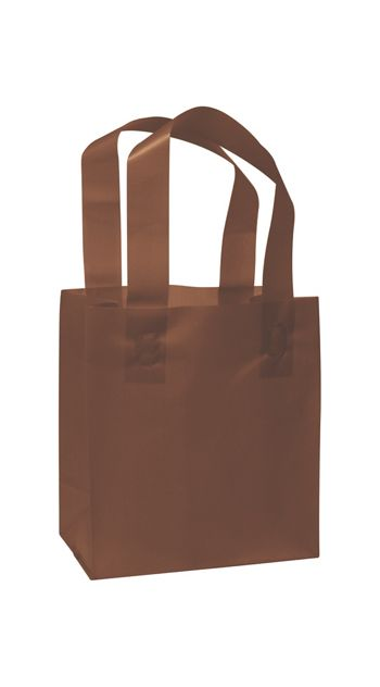 Chocolate Frosted High Density Shoppers