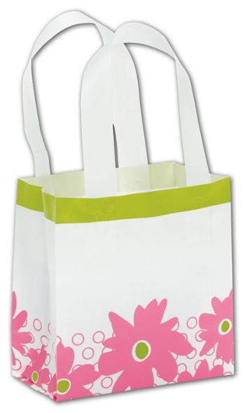 Dashing Daisy Shoppers, 6 1/2 x 3 1/2 x 6 1/2