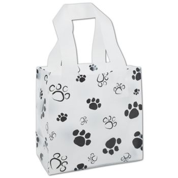 Paws Frosted Shoppers, 6 1/2 x 3 1/2 x 6 1/2""