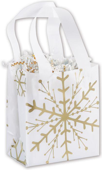 "Snow is Glistening Shoppers, 6 1/2 x 3 1/2 x 6 1/2"""