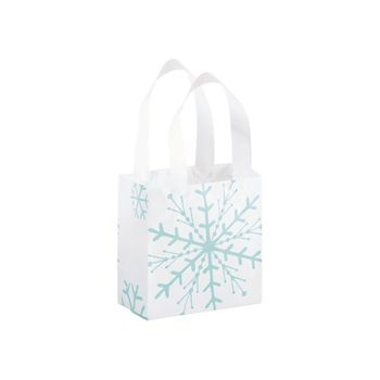 Snowflake Shoppers, 6 1/2 x 3 1/2 x 6 1/2""
