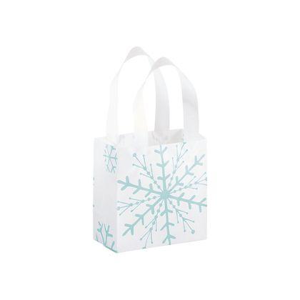 """Snowflake Shoppers, 6 1/2 x 3 1/2 x 6 1/2"""""""