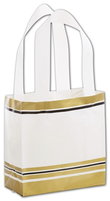 Sleek Style Shoppers, 6 1/2 x 3 1/2 x 6 1/2