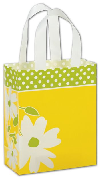 Dashing Daisy Shoppers, 8 x 4 x 10