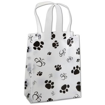Paws Frosted Shoppers, 8 x 4 x 10