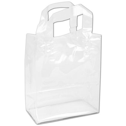 Clear Polypro Shoppers, 8 x 4 x 10""