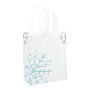 Snowflake Shoppers, 8 x 4 x 10