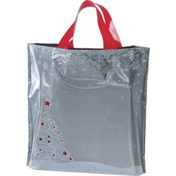 Holiday Tree/Snowflake Low Density Bags, 12 x 3 x 11