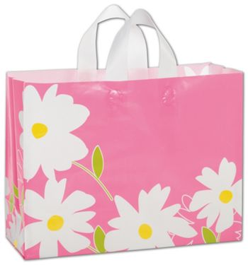 Dashing Daisy Shoppers, 16 x 6 x 12