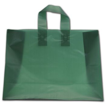 """Evergreen Frosted Flex-Loop Shoppers, 16 x 6 x 12"""""""