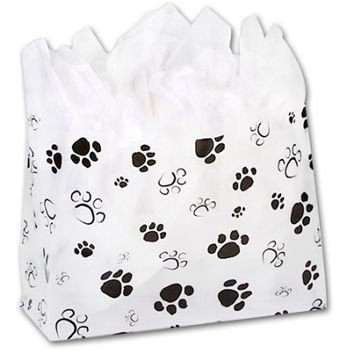 Paws Frosted Shoppers, 16 x 6 x 12