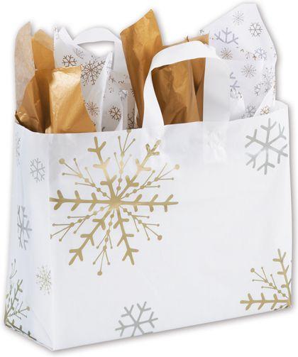 "Snow is Glistening Shoppers, 16 x 6 x 12"""