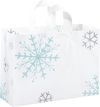 Snowflake Shoppers, 16 x 6 x 12