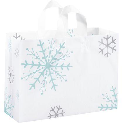 """Snowflake Shoppers, 16 x 6 x 12"""""""