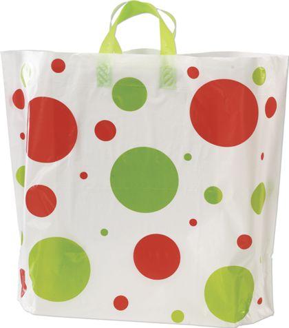 "Holiday Spots High Density Bags, 16 x 15"" + 6"" BG"