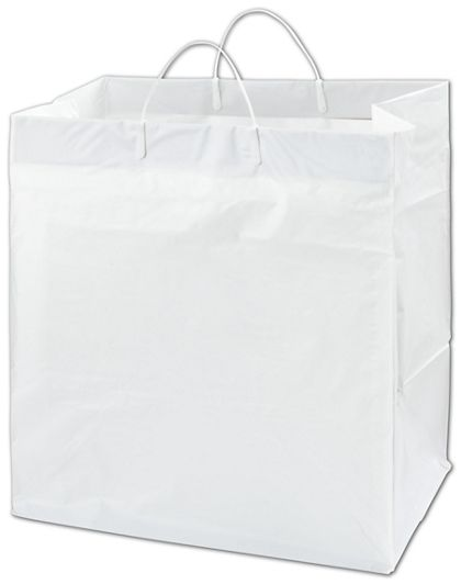 """White Heavy Caker Catering Bags, 14 x 10 x 14 3/4"""""""