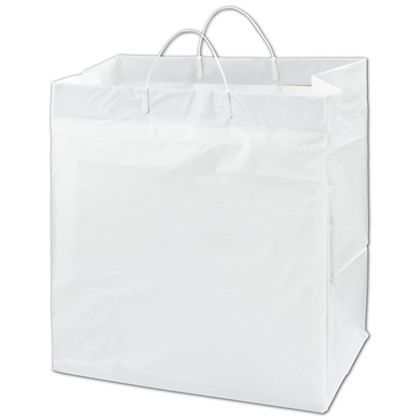 White Heavy Caker Catering Bags, 14 x 10 x 14 3/4