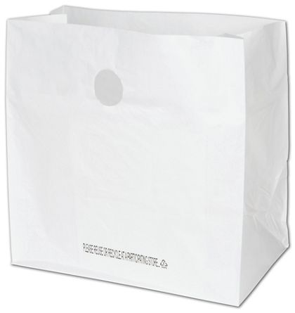 """White Diner Catering Bags, 14 x 10 x 14"""""""